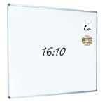 Dry Wipe Projection Whiteboard 192x120 - Aluminium