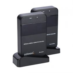 Celexon WHD30M - 4K AV transmitter & receiver Black