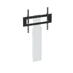 Loxit 8416 Mono Slimline Fixed Height Wall to Floor Screen Mount, 810-1210mm