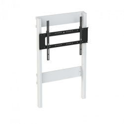 Loxit 8990 Fixed Height Wall to Floor Slimline Mount with Tilt, Multi Position (max 130kg)