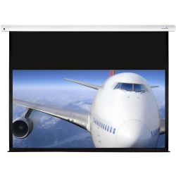 Sapphire Electric Screen 170 x 96cm - Trigger and IR remote