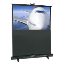 "Sapphire Portable Pull-up 80"" Projection Screen, Viewing Area 1770 x 995 VALUE RANGE"