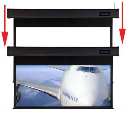 Sapphire Smart Move 4m 16:10 Two Motor Electric Projection Screen