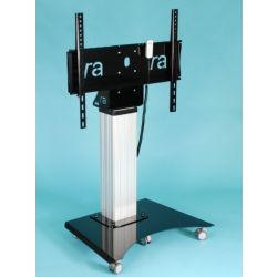 "Ra technology RA-Media-Mate-Monitor-Mobile 75"" Portable flat panel floor stand Black"