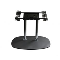 "B-Tech Flat Screen Floor Stand 165.1 cm (65"") Portable flat panel floor stand Black"