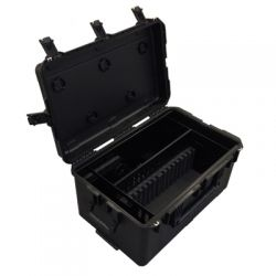 Loxit 7412 Portable device management cart Black