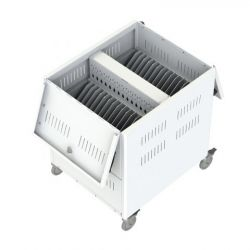 Loxit 7465 Portable device management cart White