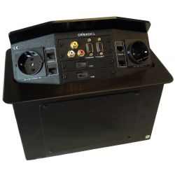 Celexon tilted AV desk face plate Expert TA-300B - Black