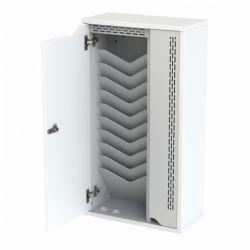 Loxit Tabinet 10 Wall mounted Steel White