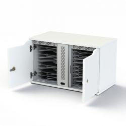 Loxit Tabinet 20 Desktop & wall mounted Steel White