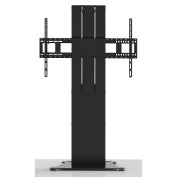Vision VFM-F40/FP flat panel floorstand Fixed flat panel floor stand Black