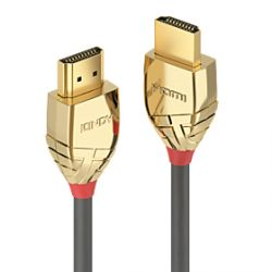 Lindy 37864 HDMI cable 5 m HDMI Type A (Standard) Gold,Grey