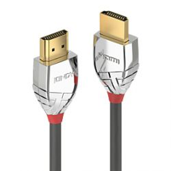 Lindy 37871 HDMI cable 1 m HDMI Type A (Standard) Grey,Silver