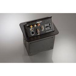 Celexon tilted AV desk face plate Expert TA-200B - Black