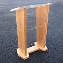 PRO AV Wood And Acrylic Lectern - 03