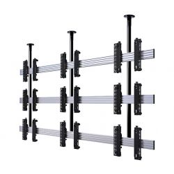 B-Tech Universal Ceiling Mounted Videowall Mounting System