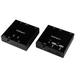 StarTech.com HDMI over CAT6 Extender with 4-port USB Hub - 165 ft (50m) - 1080p