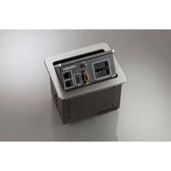Celexon tilted AV desk face plate Expert TA-100S - Silver