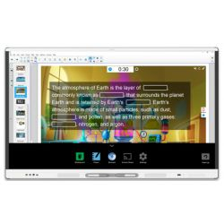"SMART Technologies SBID-MX286 interactive whiteboard 2.18 m (86"") Touchscreen 3840 x 2160 pixels White"