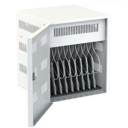 Loxit 7707 Portable device management cabinet White