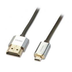 Lindy 41682 2m HDMI Micro-HDMI Black HDMI cable