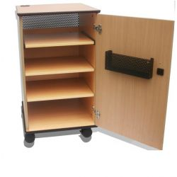 Sapphire STRV102D Multimedia trolley Wood multimedia cart/stand