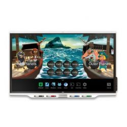"SMART Technologies SBID-7275 interactive whiteboard 190.5 cm (75"") Touchscreen 3840 x 2160 pixels White"