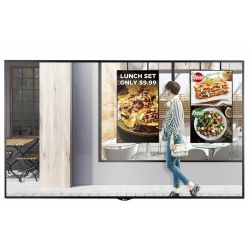 "LG 55XS2E signage display 138.8 cm (54.6"") LED Full HD Digital signage flat panel Black"