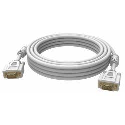 Vision 2x VGA 15-pin D-Sub, 3m VGA cable VGA (D-Sub) White