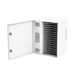 Loxit 7730 Portable device management cabinet White