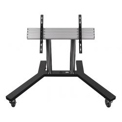 B-Tech Universal Low Level Flat Screen Trolley