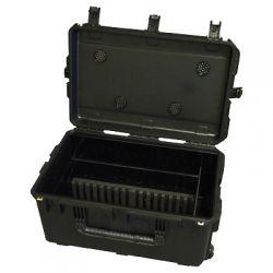 Loxit 7410 Portable device management cart Black