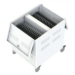 Loxit 7472 Portable device management cart White