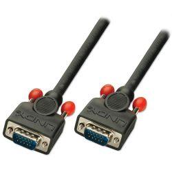 Lindy 5m VGA VGA cable VGA (D-Sub) Black