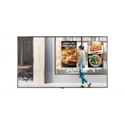 "LG 75XS2E signage display 190.5 cm (75"") LED 4K Ultra HD Digital signage flat panel Black"