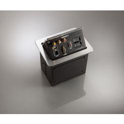 Celexon tilted AV desk face plate Expert TA-200S - Silver