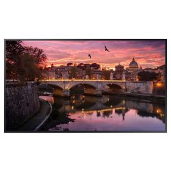 "Samsung QB43R 108 cm (42.5"") LED 4K Ultra HD Digital signage flat panel Black"