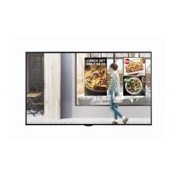 "LG 49XS2E signage display 124.5 cm (49"") LED Full HD Digital signage flat panel Black"