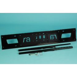"Ra technology RA-140-LCD-HD 90"" Black flat panel wall mount"