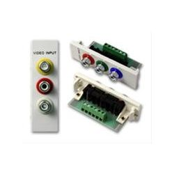 Vision TC2 3PHO wire connector 3 x Phono White