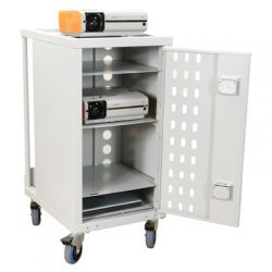 Loxit 6069 Universal Multimedia trolley White multimedia cart/stand