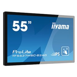 "iiyama ProLite TF5537MSC-B2AG touch screen monitor 139.7 cm (55"") 1920 x 1080 pixels Black Multi-touch Table"