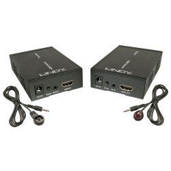 Lindy 38126 AV extender AV transmitter & receiver Black