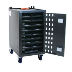 Loxit 7519 Portable device management cart Black