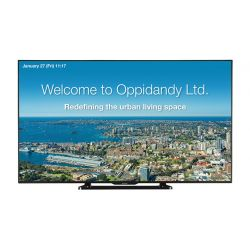"Sharp PNQ601K signage display 152.4 cm (60"") LCD Full HD Digital signage flat panel Black"