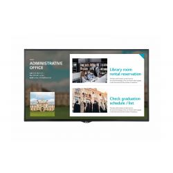 "LG 55SE3KE signage display 139.7 cm (55"") LED Full HD Digital signage flat panel Black"