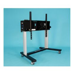 "Ra technology RA Media Mate Mobile PRO XL 85"" Portable flat panel floor stand Black"