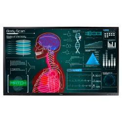 "Optoma OP751RK+ 190.5 cm (75"") LED 4K Ultra HD Touchscreen Interactive flat panel Black"