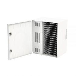 Loxit 7731 Portable device management cabinet White