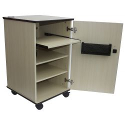 Sapphire STRV102L AV cabinet trolley (Light Wood)